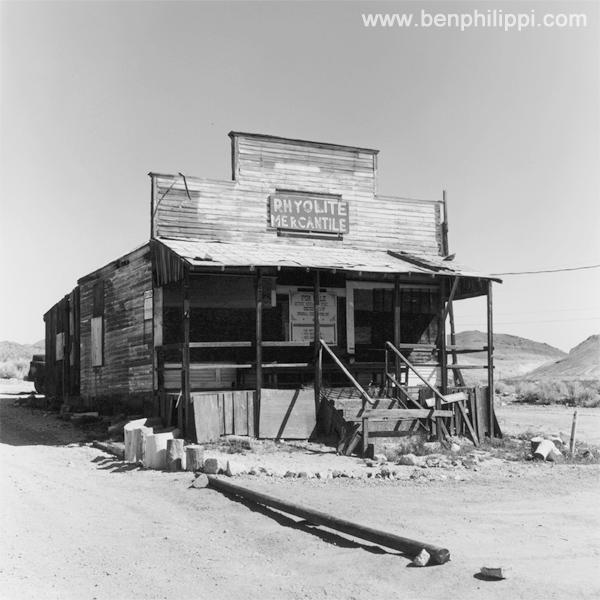 Ryolite, Nevada.
