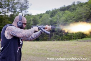 AK blast © Ben Philippi God Guns & Guts