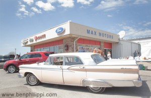 Max Motors in Butler, Missouri. God, Guns & Automobiles © Ben Philippi