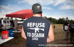 Refuse to Disarm © Ben Philippi  God Guns & Guts